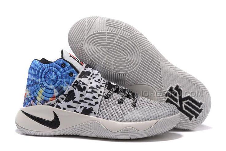 "http://www.jordan2u.com/nike-kyrie-2-ii-all-star-wolf-greyblueblack-kyrie-sneakers-sale.html Only$69.00 #NIKE KYRIE 2 II ""ALL STAR"" WOLF GREY/BLUE-BLACK KYRIE SNEAKERS SALE Free Shipping!"