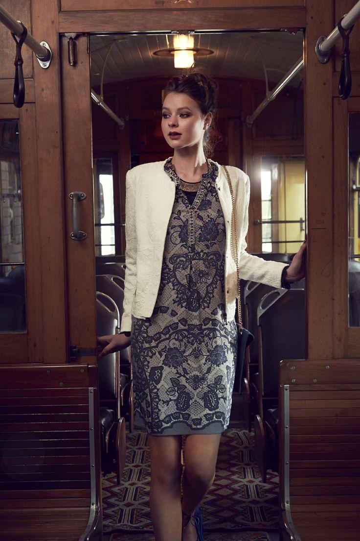 Loobies Nostaglia Dress and powerstretch jacket