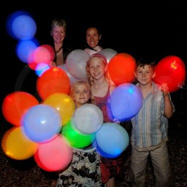 THESE!!!  --->  (led) Illoom Balloons - Light Up Balloons