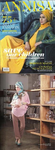 SimplyMii on Annisa Magazine May 2012