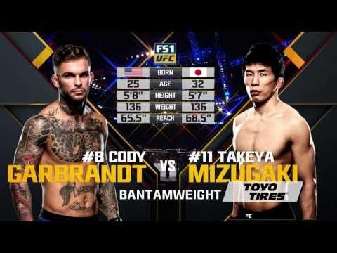 UFC 207 Free Fight: Cody Garbrandt vs Takeya Mizugaki