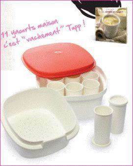 Recettes pour la yaourtière Tupperware - Tupperware avec Céline