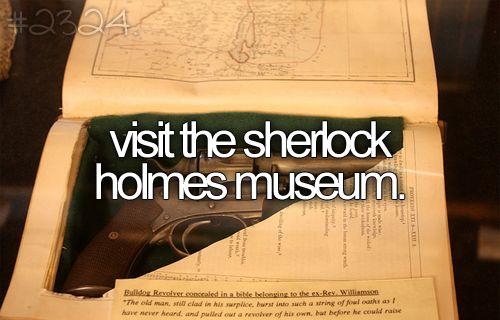 Bucketlist, Buckets Lists, Bakers Street, Beforeidie, Before I Die, Holmes Museums, Places, Sherlock Holmes, Bucket Lists