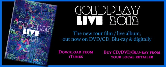 Coldplay: Mylo Xyloto Disponible en Tower Records