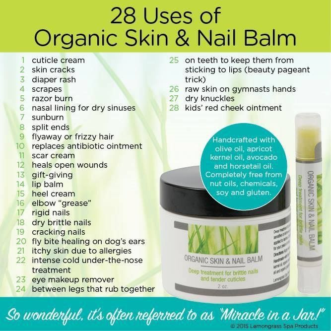 The best nail balm I have ever used!. Great for cuticles, rough skin, callouses! Shop: ourlemongrassspa.com/newhealth
