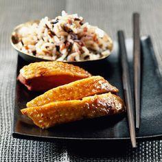 Découvrez la recette Canard laqué facile à la chinoise sur cuisineactuelle.fr.