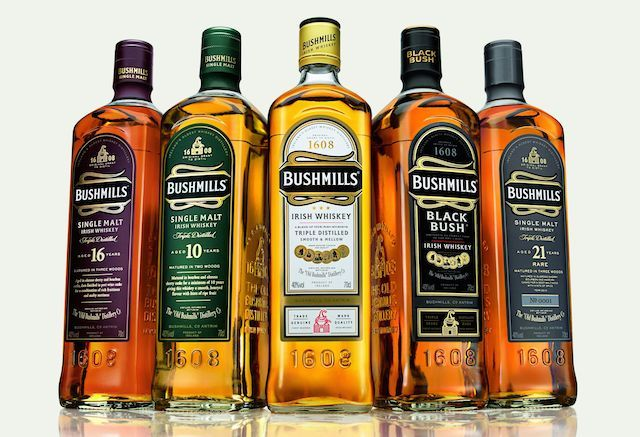 A look at over 20 different Irish Whiskeys and a list of the best Irish Whiskey you can buy.
