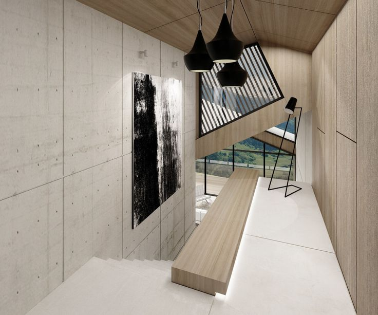 House Mountain view_interior_Kitzbuhel by SoNo