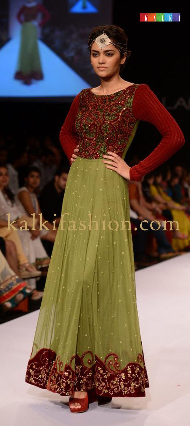 "http://www.barcode91.com/ ""Ritika by Vivek Kumar"" creating a beautiful collection called Kirtimukha at Lakmé Fashion Week Winter Festive 2013"