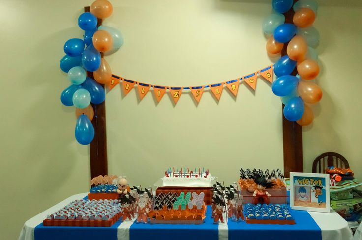 17 best images about dragon ball birthday party on for Decoration dragon ball