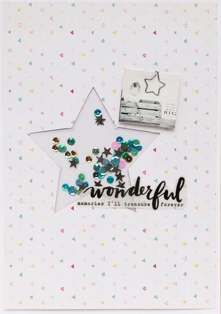 Inspirationsgalerie - Layout Werkstatt - Scrapbook Werkstatt - Layout mit dem Fuse Tool von Sarah