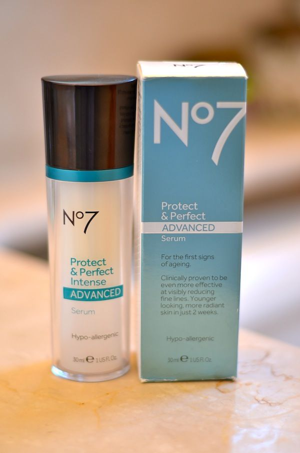 Boots No7 Protect and Perfect Advanced Serum #GetAdvanced