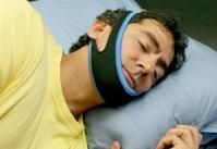 A New Solution That Stops Snoring and Lets You Sleep.  This chin strap costs $119 thou....maybe I could make one????