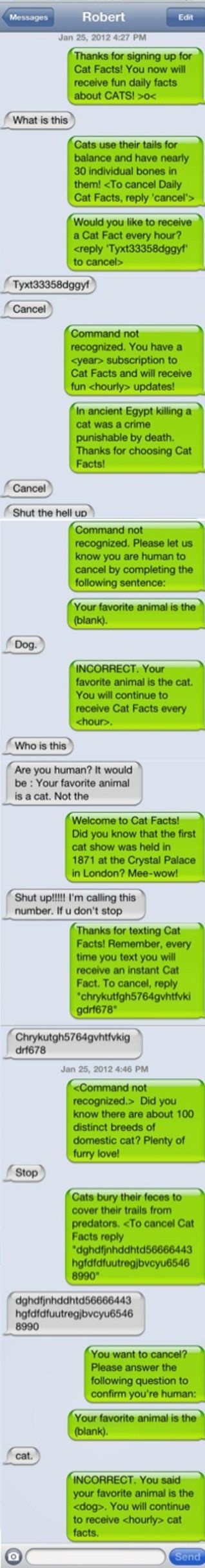 Trolling Level IMPUSSIBRU - MEME, Funny Pictures and LOL if I could sign up for cat facts, I would.