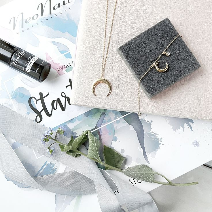 WILD collection, moon, gold necklace, bracelet with zirconia, summer vibes, ANIA KRUK jewellery