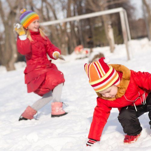 10 jeux avec des boules de neige