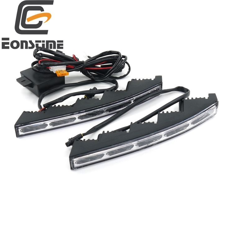 49.99$  Watch here - http://aip0r.worlditems.win/all/product.php?id=32731626091 - 12V/24V High Quality Car Auto  5 LED Daytime Running Light Lamp  for Toyota Land Cruiser DRL 10W+Host Controller Toyota cruiser