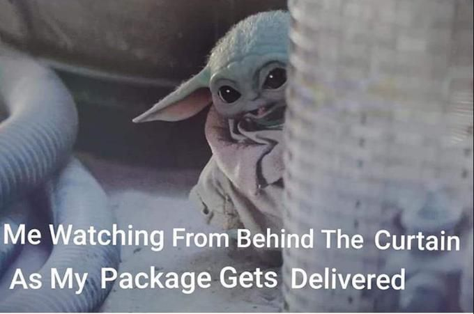 33 Baby Yoda Memes Because He S The Best Thing Since Porgs Yoda Funny Yoda Meme Yoda Quotes