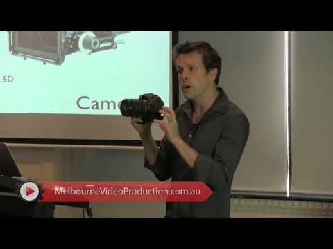 """ David Jenyns talks about choosing the right video equipment for your shoot. He recommends the basics like camera and mics that you can use for your production.   Interested to know more about web video production equipment? Visit http://www.melbournevideoproduction.com.au/video-seo/web-video-tutorials/"""