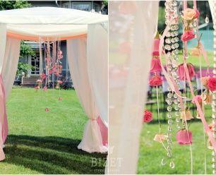 Декор выездной регистрации брака от Bizet студия декора wedding decor | ceremony | pink wedding