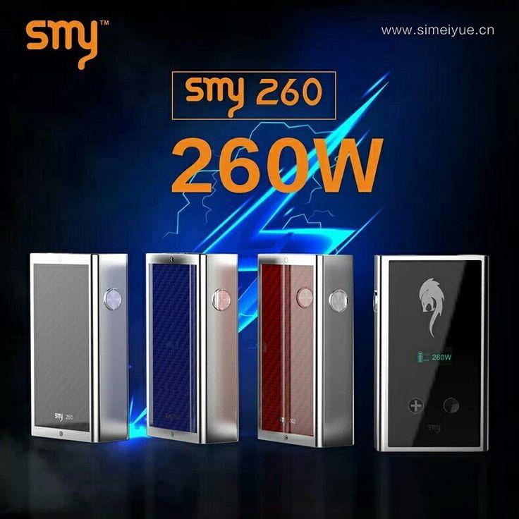 smy260w is a huge vapor . electronic cigarette . i so like . do u think so ? http://www.wish.com/merchant/星宸电子科技有限公司