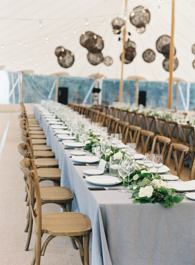 simple tables for our FAVORite wedding table