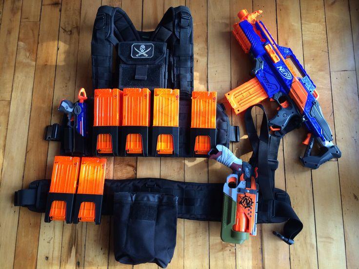 Zombie Strike: Nerf Blaster Loadouts | Nerf Gun Attachments
