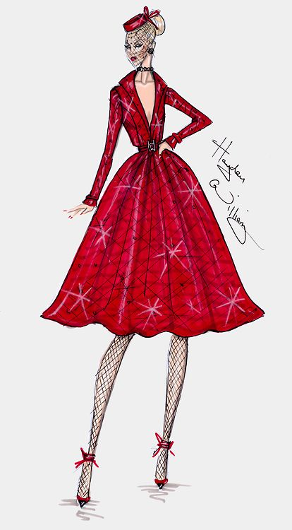 Hayden Williams Haute Couture FW13 pt2 Good thing I can sew one day maybe I'll get around to replicating this dress- its totally my style!