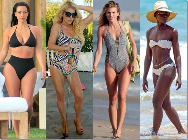bikinis y trajes de baño: saca el mayor provecho a tu silueta con estos fabulosos tips!