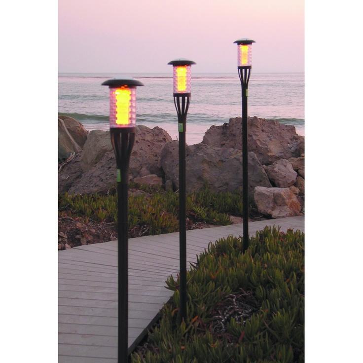 Tiki Torch Solar Light Enjoy the romantic illumination