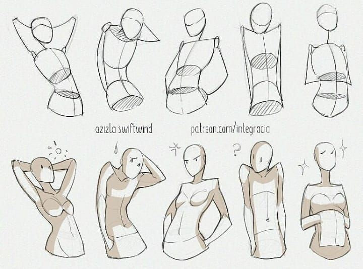 Instagram Da How To Draw Manga Comics When Drawing Your Character Gesture Is Key To Making Art Reference Photos Art Reference Poses Drawing Reference Poses
