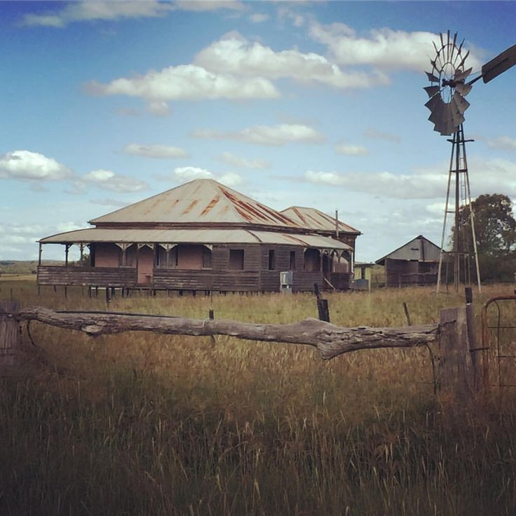 Private Home Queensland Australia: Abandoned Queenslander In A Place Called Back Plains Not