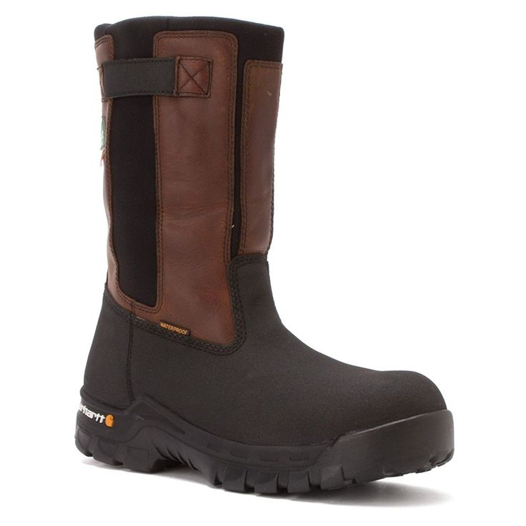 Carhartt Men's CMR1999 10' Rugged Flex Waterpoof CSA Pull On Boot >> Tried it! Love it! Click the image. : Carhartt Boots