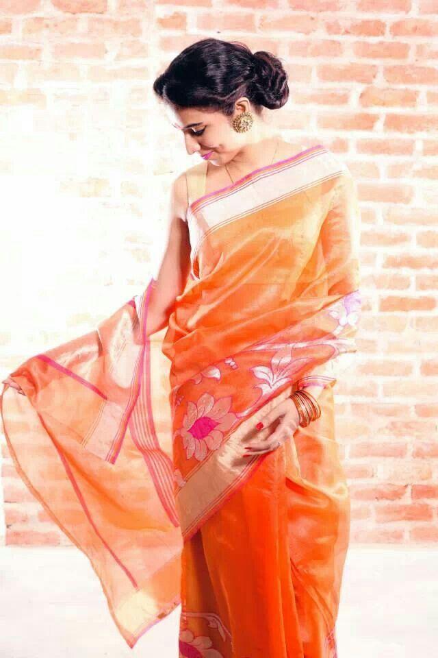 Banarasi indian sari