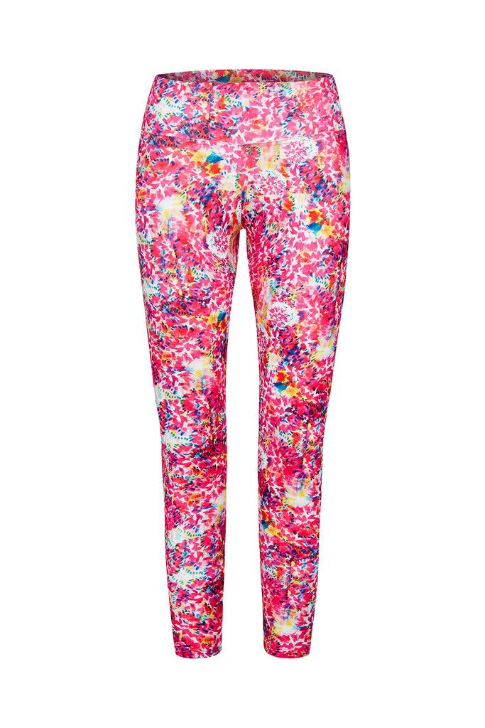 Crayon Rainbow Printed Yoga Legging - 3/4 – Dharma Bums Yoga and Activewear