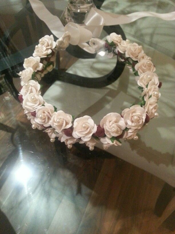 Crown done by me for my neice... ❤❤❤