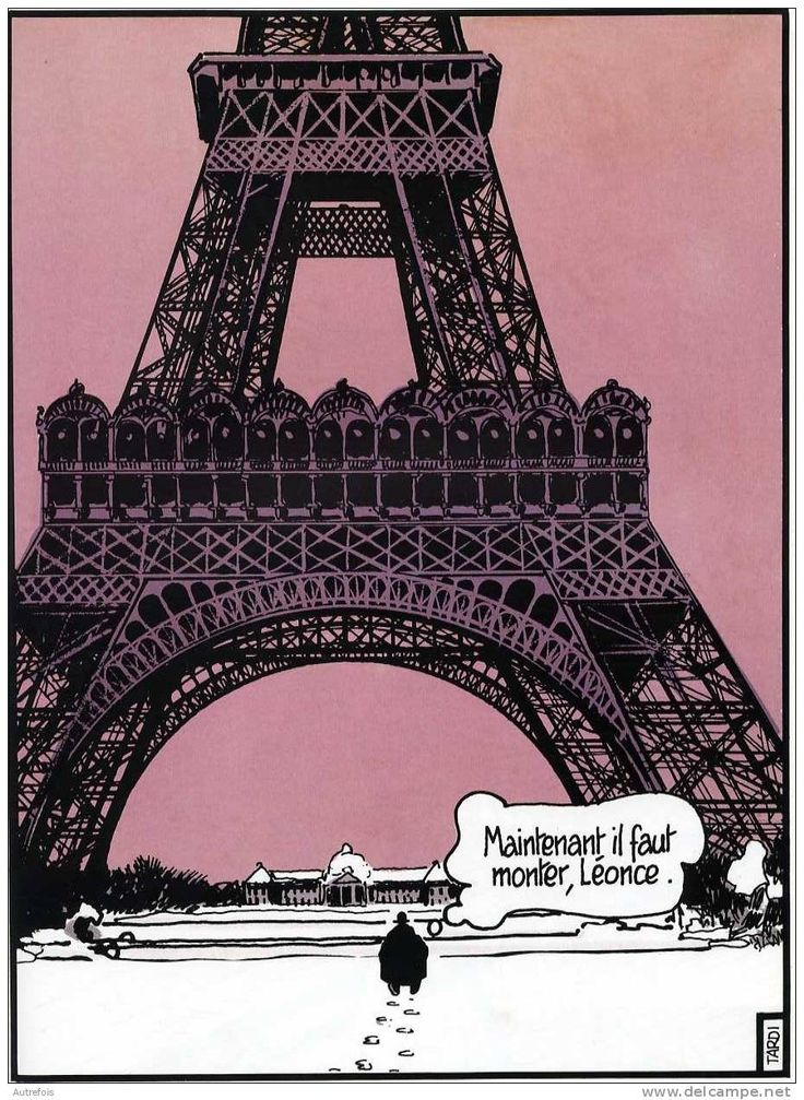 La tour eiffel dans un album d 39 ad le blanc sec tardi comics tardi images and other stuff - Poster tour eiffel ...