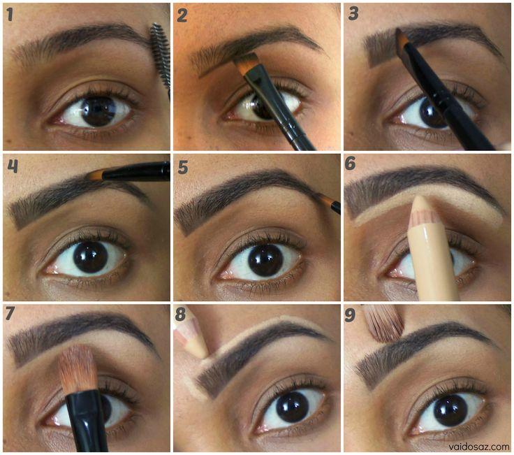 Para ter a sobrancelha perfeita e naturais, basta manter as linhas da sobrancelha e retirar somente o excesso deixando as sobrancelhas harmoniosas no rosto.