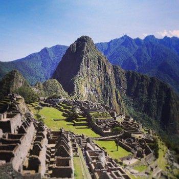 南米の絶景「マチュピチュ」 時間がかかりますたどり着くまでの過程も旅の面白さのひとつ!