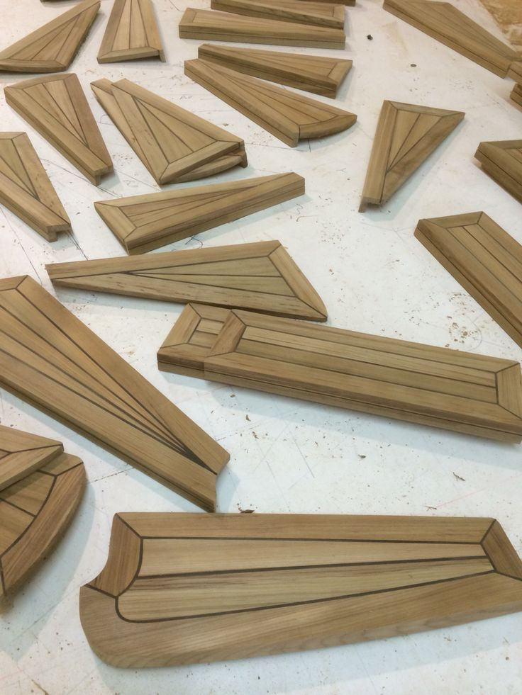 Teak steps for superyacht decking pinterest