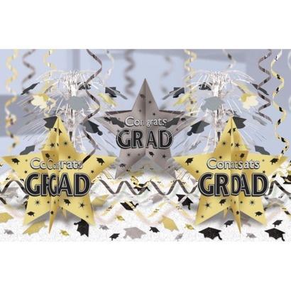 graduation ultimate table decorating kit blackgold