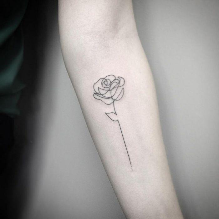 1001 Ideas De Tatuajes De Rosas Super Bonitos Con Fuerte Significado Tatuaje Rosa Pequena Tatuajes De Rosas Tattoo Minimalistas