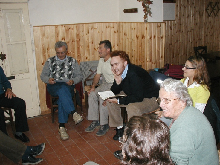Gli incontri al Ristorante Mucelli di San Ruffino (Comune di Lari, Pisa) nell'inverno del 2004