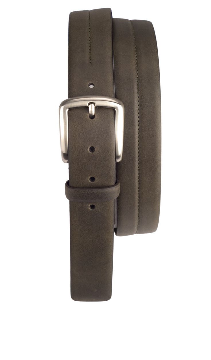 Cintura Saldata GRINGO 3,5 CM con Fibbia Fango