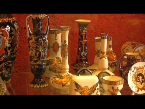 ▶ A Visit to Gien - Home of the World Famous Faïence Pottery - YouTube