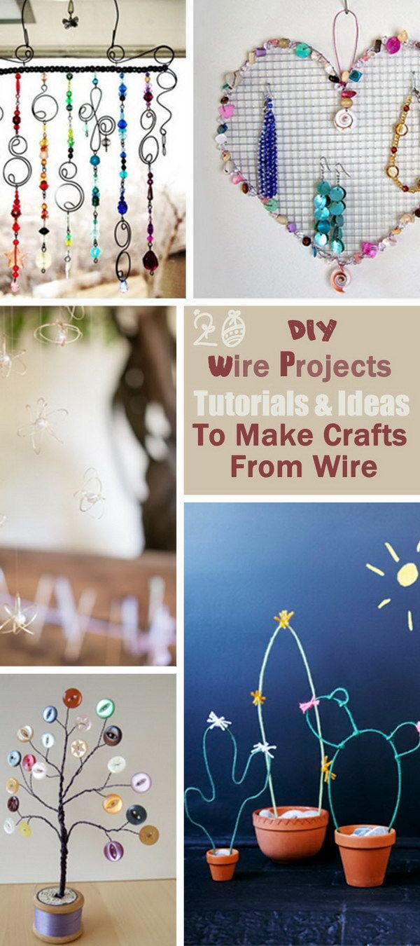 36 best images about wire crafts on pinterest wire. Black Bedroom Furniture Sets. Home Design Ideas
