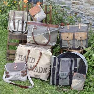 Mona B Canvas Bags & Totes