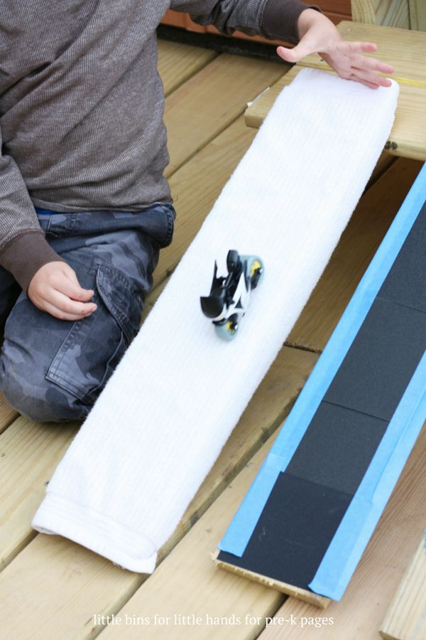 Science for Kids: Exploring Ramps and Friction - Pre-K Pages