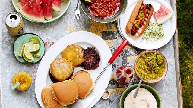 The Ultimate Summer Cookout Menu, from the BA Burger Deluxe to DIY Condiments | Bon Appetit
