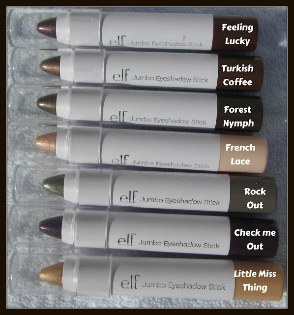 -: ELF Jumbo Eyeshadow Stick Review  http://ninasbargainbeauty.blogspot.ie/2013/03/elf-jumbo-eyeshadow-stick-review.html  @e.l.f. Cosmetics